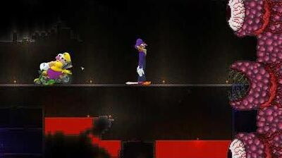 Wario And Waluigi Accidentally Summon The Wall Of Flesh