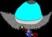 Funny UFO Go Spurt Spurt