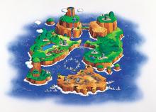 SMW Art - Dinosaur Land