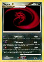 Giygas X card