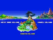 Sonic islands