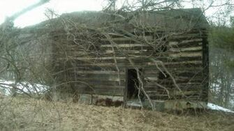 Creepy Log Cabin