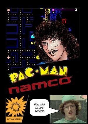 Weird al PAC man