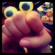 Oobi Eyes Hand Puppet Portrait