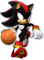 Dark Sonic Basketball