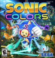 Sonic Colors box artwork