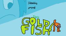 Pissing goldfish