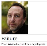 Jimmy wales failure