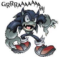 Sonic the Werehog Growl