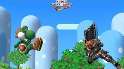 Yoshi and Gannondorf deciding who gets the Death Note