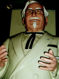 Sanders Statue