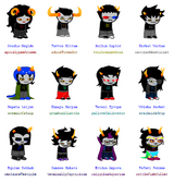 The Twelve Homestuck Trolls