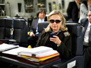 Hillary-clinton-sunglasses-blackberrry-kevin-lamarque-ap