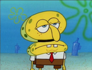 180px-SpongeBob Pretending to be Squidward