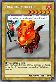 Mortar dragon card