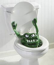 Toilet monstah
