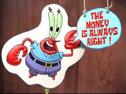 Mr. Krabs advice