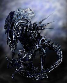 ALIENS Queen Xenomorph by crophecy
