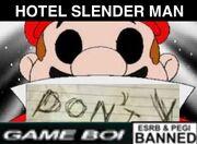 Hotel SLENDERMAN cover