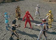 AkaRed's Sentai Team