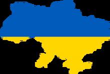 UkraineFlagMap