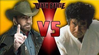 Chuck Norris VS Segata Sanshiro DEATH BATTLE!