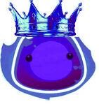 Negative king fire slime