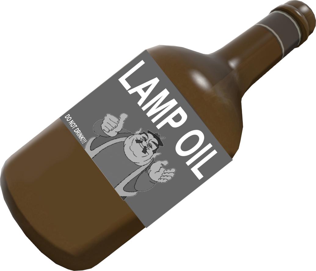 LampOil. Original Bottle Of Lamp Oil ...