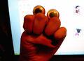 Oobi Eyes Grampu the Hand Puppet