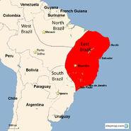 East Brazil