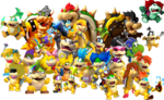 Bowser and Family