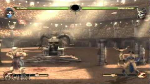 Mortal Kombat 9 - Shao Kahn's Taunts