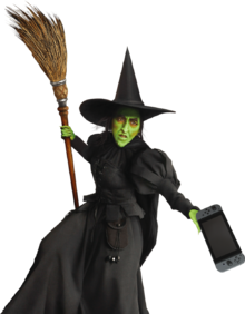 Nintendo's Witch