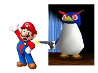 Penguin gun