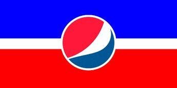 Pepsi Republic Flag