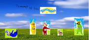 Thumper vs. the Teletubbies