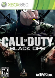 Call of Duty Black Ops cover copy