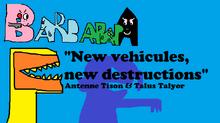 New vehicules, new destructions