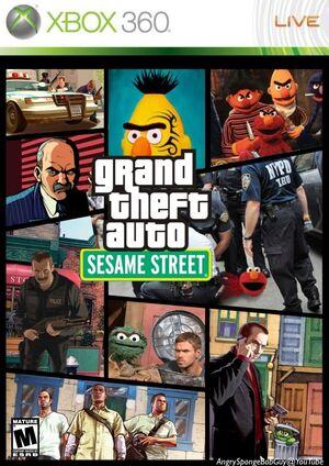 Grand theft auto seasme street