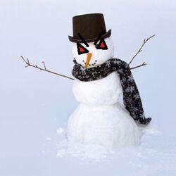 Evil Snowman
