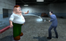 G-Man, putting --Peter Griffin-- into stasis