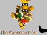 The Awesome One Kicks Bowser's Butt