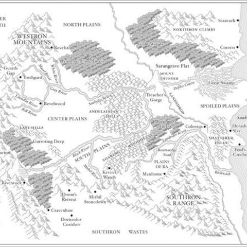 Map of The Land<br />