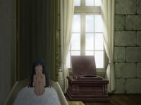 Raishin Akabane's Room's Bathroom