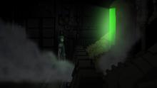 Raishin Discovering Lisette's Dead Body in Her Own Locker