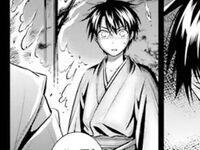 A Younger Raishin in a Kimono M II