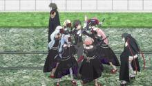 Raishin Suddenly Surrounded by Magnus' Squadron