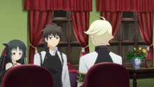 Raishin and Felix Discussing about Felix's Proposal