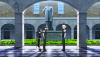 Felix Approaches Raishin and Yaya