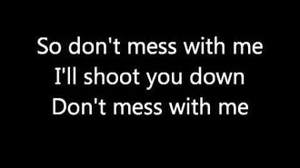 Temposhark - Don't Mess With Me (lyrics)